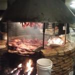 BBQ pit at Salt Lick