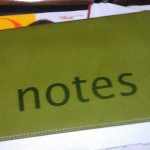 Notes cover