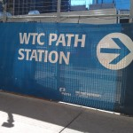 WTC PATH Banner NYC 2013